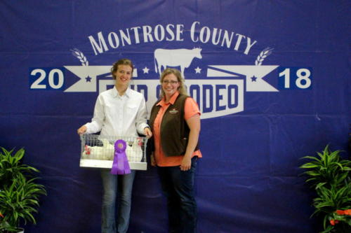 Grand Champion Market Chickens - Grand Champion Broiler Pen of 3 - Aubrie Lewis - Murdoch's Ranch & Home Supply