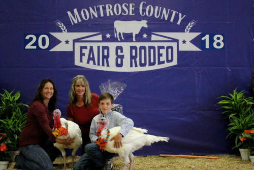 Reserve Champion Market Turkey - Pen of 2 - Tanner Yeager - 20 Sleeps West Real Estate
