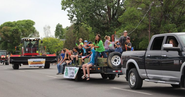 2018 Montrose County Fair & Rodeo Parade Results