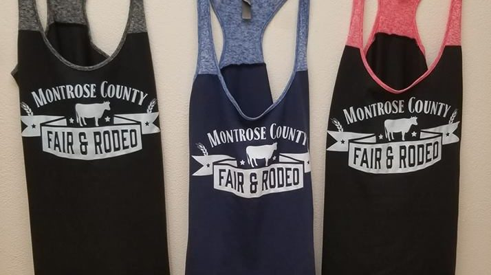 Montrose County Fair Tank Tops $15