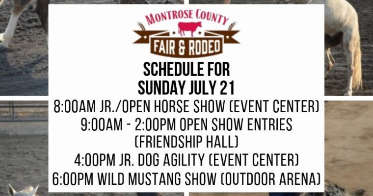 Sunday 7/21 Pre-fair Events