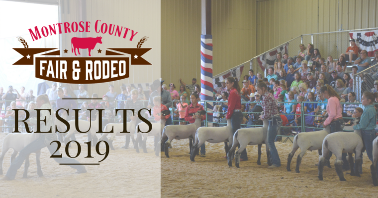 Fair Youth Booth & Commercial Booth Results